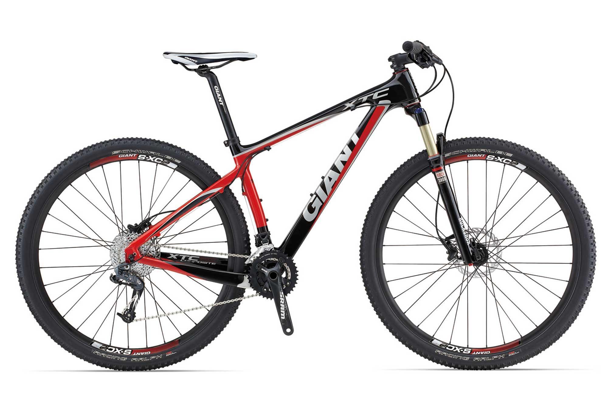 Giant XtC Composite 29er 3 Carbon Hardtail Mountain Bike ...
