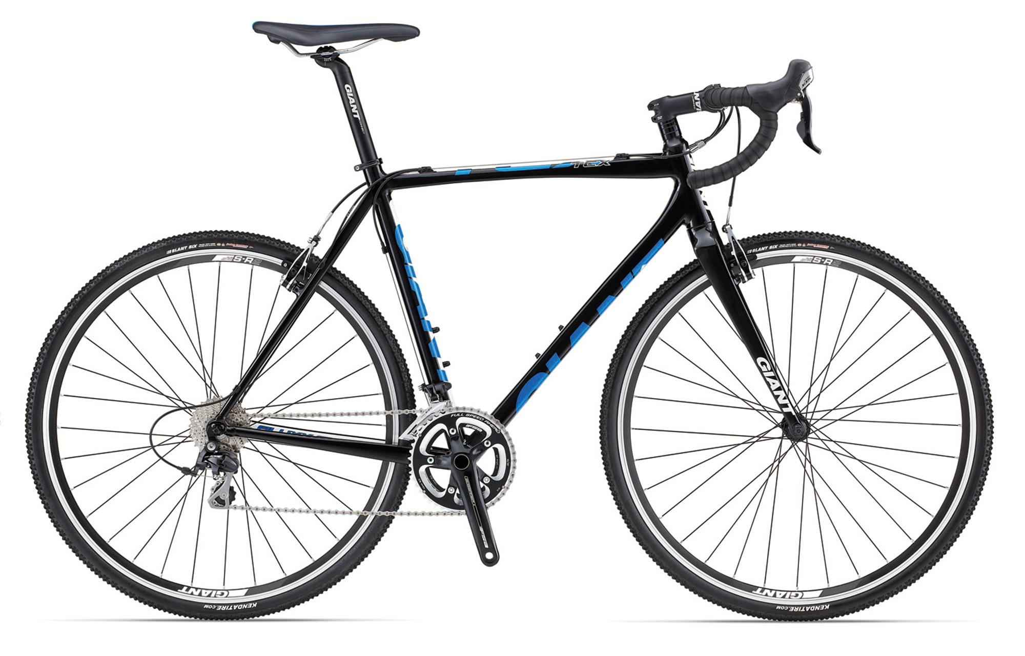 Giant TCX 1 XS Black/White/Blue Aluminium Cyclocross Bicycle - H2 Gear