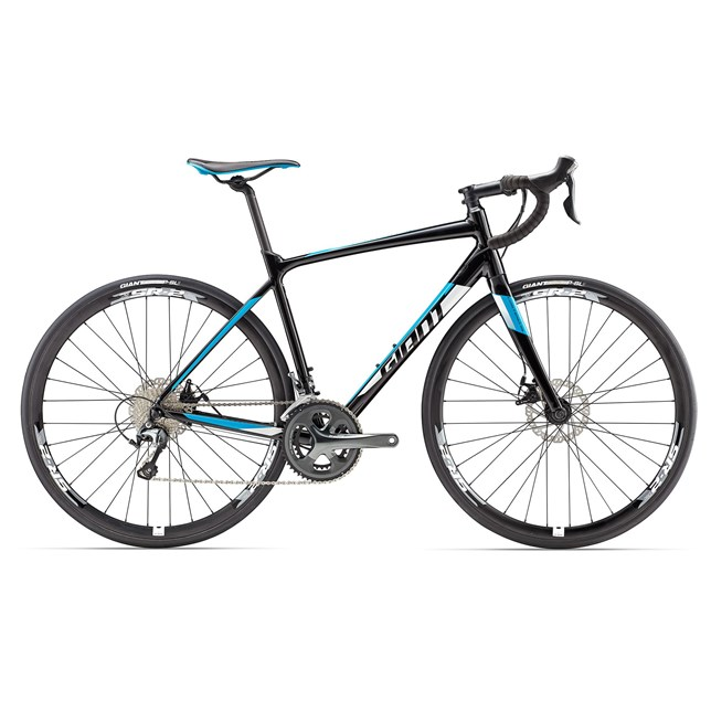 2017 Giant Contend SL 2 Disc Alloy Road Bike
