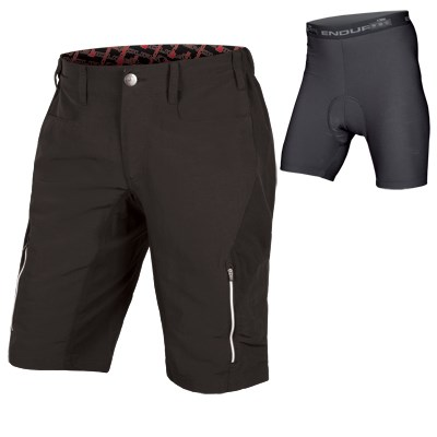 ENDURA SINGLE TRACK III SHORT WITH LINER