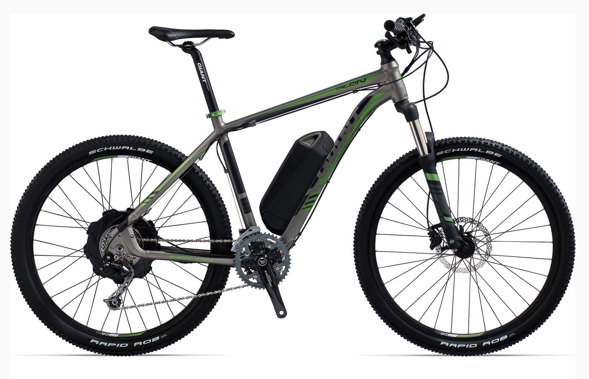2014 Giant Talon E Plus Electric Mountain Bike H2 Gear