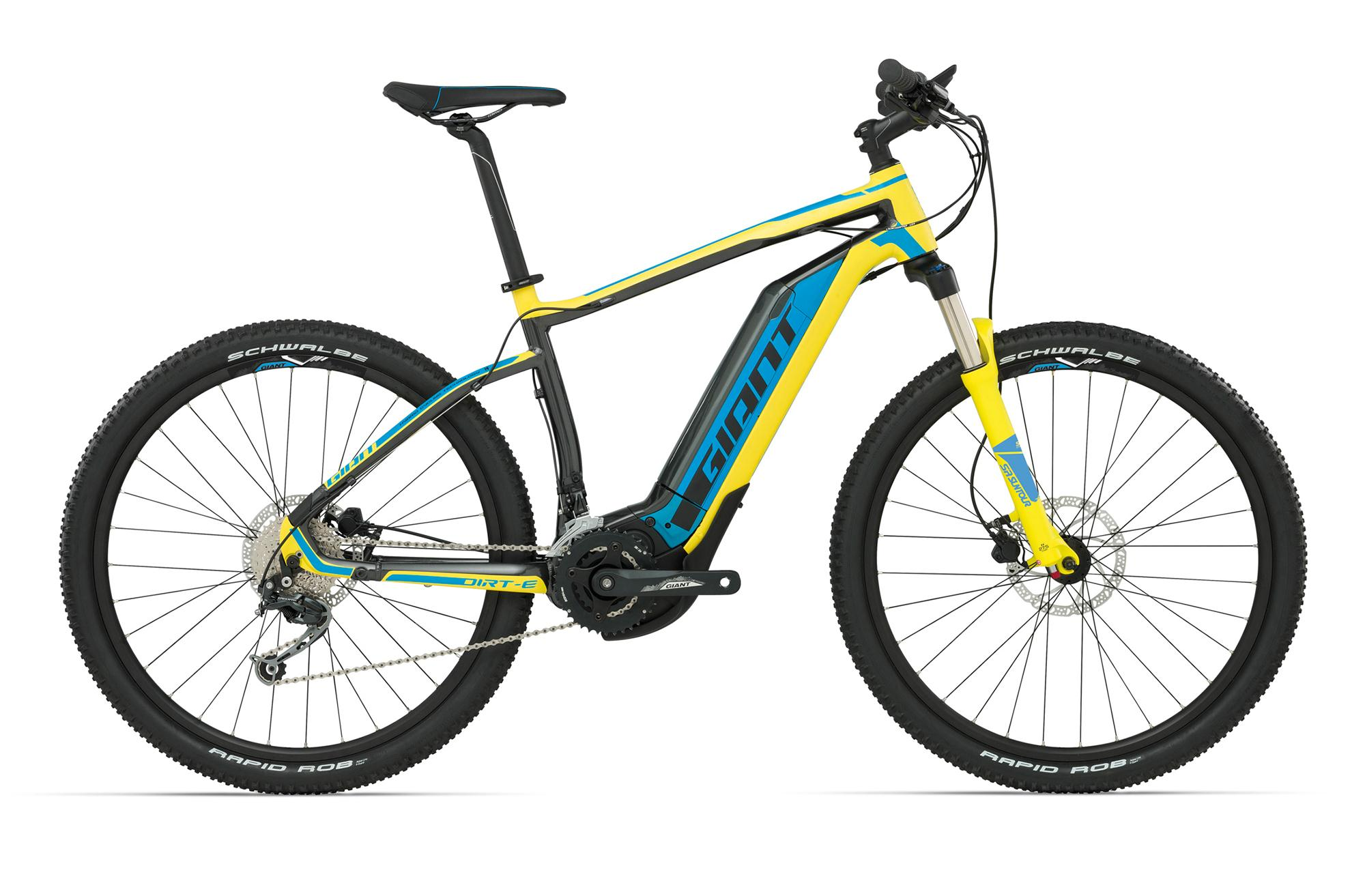 2016 GIANT DIRT-E PLUS 2 ELECTRIC MOUNTAIN BIKE