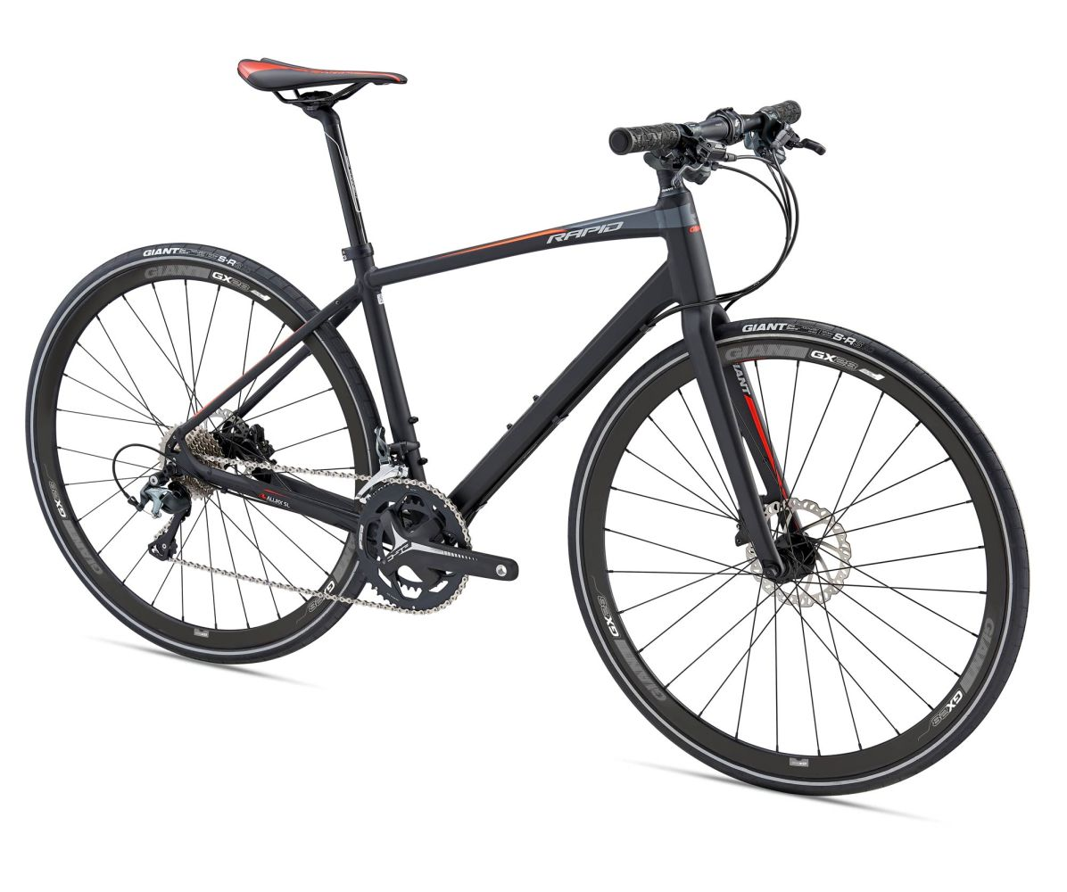 The Inside Track On Rapid Products Of Fitness: 2018 Giant Rapid 1 Hybrid