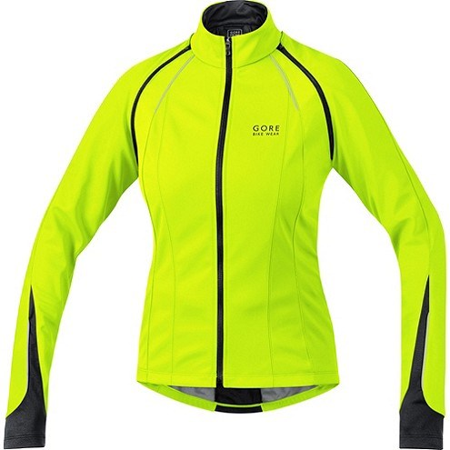 Gore Phantom 2.0 Womens SoftShell WindStopper - Yellow