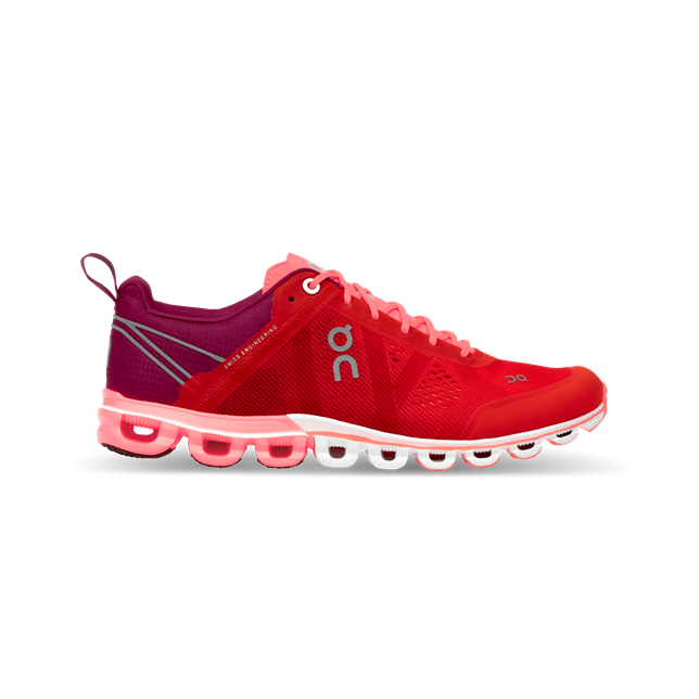 On Cloudflow Womens Trainers Spice / Flash