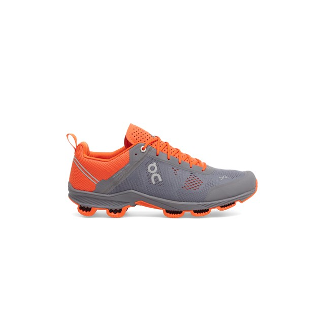 On Cloudsurfer Mens Trainers Rock / Ora