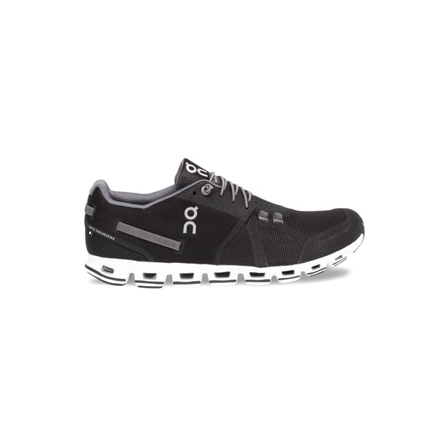On Cloud Womens Trainers Black / White