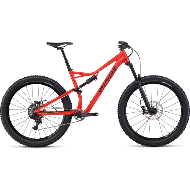 2017 Specialized Stump Jumper FSR Comp 6Fattie Mountain Bike